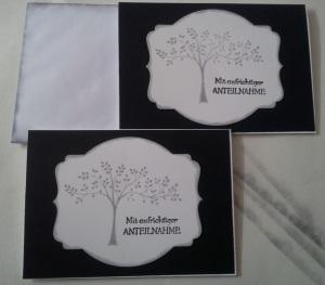 Trauerkarte Möhle 1