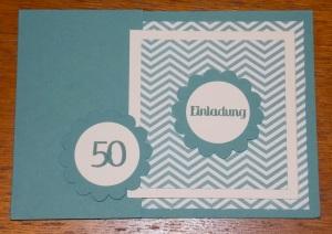 Einladung 50 Lagune