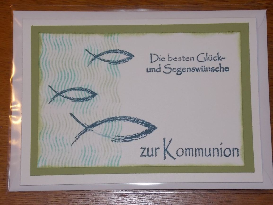 Blogpause – Kommunion – IGEHA