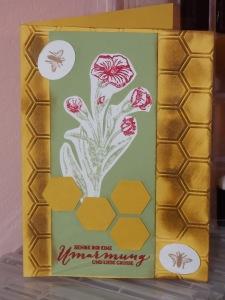 Bienen und Blume