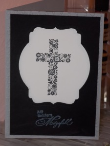 Trauer und Kreuz