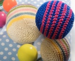 Streifenball klein 4