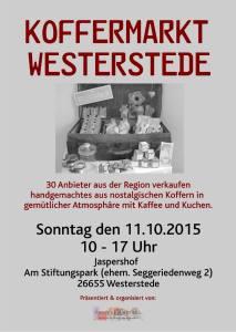 Koffermarkt Westerstede 11.10.15