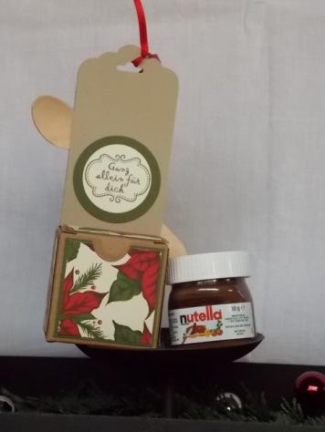 Nutella Weihnachtsstern