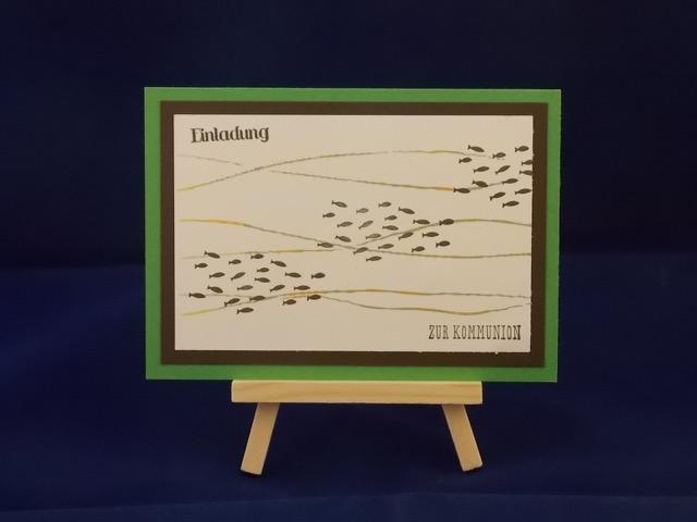 Kommunion Fischschwarm