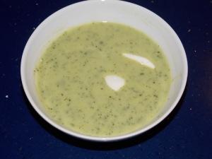 Zucchinisuppe 6