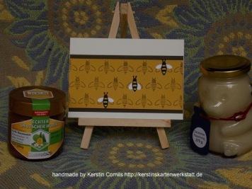 Bienen Prägefolder 1