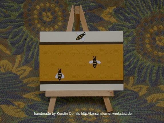 Bienen Prägefolder 2