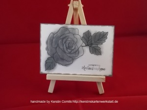 Trauer Rose