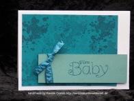 Baby kleckse blau
