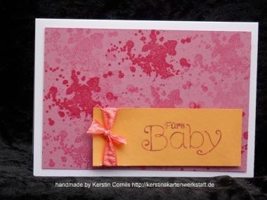 Baby kleckse pink