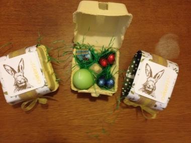 Eier Ockerbraun 3