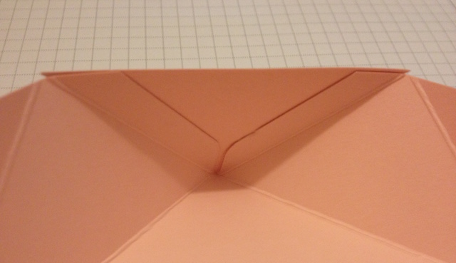 Diamantbox Dreieck einkleben 2