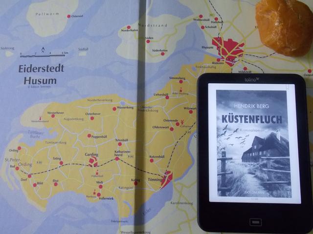 Cover: Küstenfluch von Hendrik Berg
