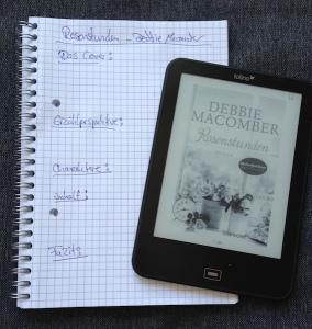 Notizen zur Rezension von Debbie Maccombers Buch: Rosenstunden