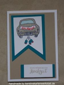 Hochzeitskarte mit dem Stempelset Wonderful Life von Stampin Up