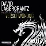 Cover vom Hörbuch Verschwörung von Davod Lagercrantz nach Stieg Larsson