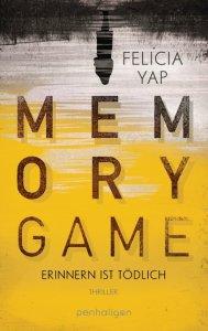 Cover: Memory Game - Erinnern ist tödlich von Felicia Yap