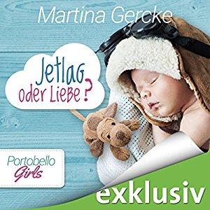 Cover vom Hörbuch: Jetleg oder Liebe von Martina Gercke