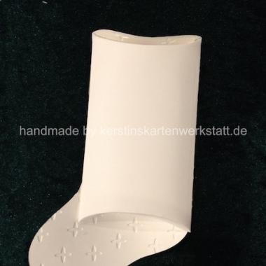 Socke Lebkuchen Rückseite