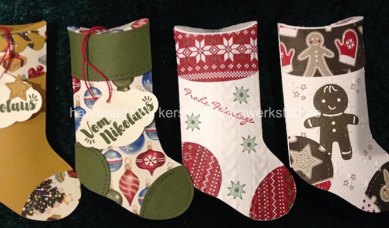 Socken zum Nikolaus und zu Weihnachten   Weihnachten