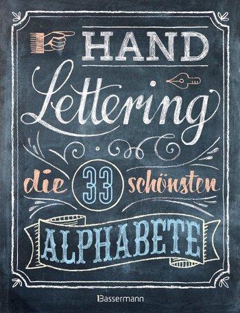 Cover vom Buch Handlettering die 33 schönsten Alphabete