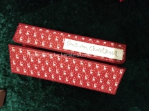 Klappbox zu Weihnachten mit Stampin Up Papier und Stempeln