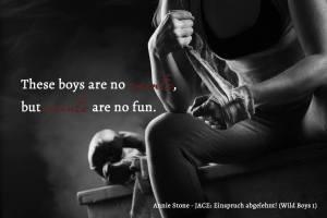Annie Stone - Jace: Einspruch abgelehnt (Wild Boys 1)