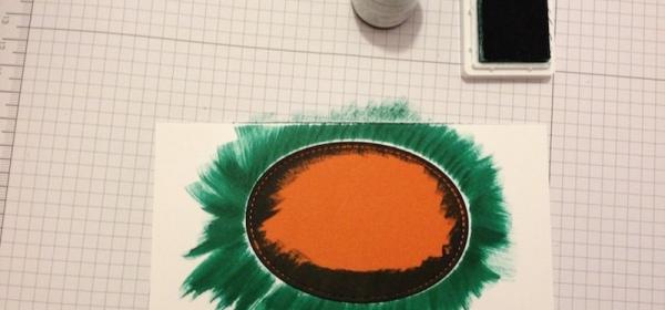 Masking Stamp Technik Schritt für Schritt Anleitung