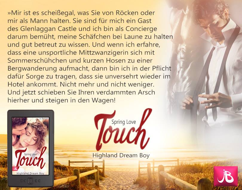 Rezension: Spring Love Touch von Jo Berger