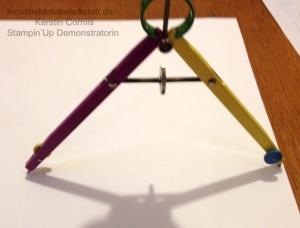 Anleitung Circel Fold Up Card von Kerstin Cornils