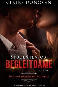 """Cover von """"Studentenjob: Begleitdame Buch eins von Claire Donovan"""