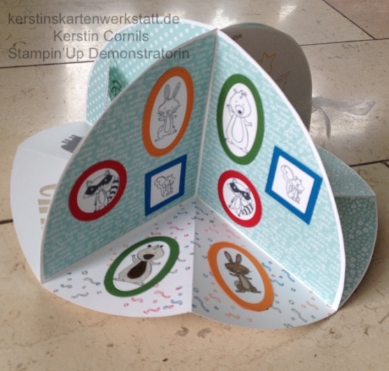 Circel Fold Up Card 4