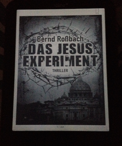 Cover Das Jesus Experiment von Bernd Rossbach