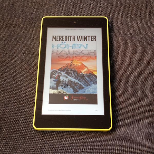 Rezension zum Ebook Höhenrauschsaison von Meredith WInter