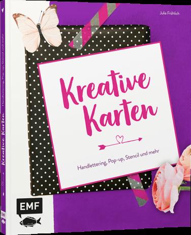 Rezension zum Buch: Kreative Karten von Julia Fröhlich aus dem EMF Verlag