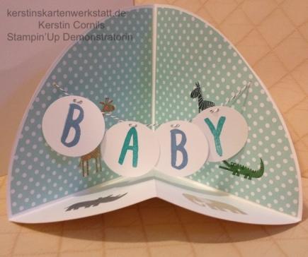 Rohbau Circel Fold Up Card 2