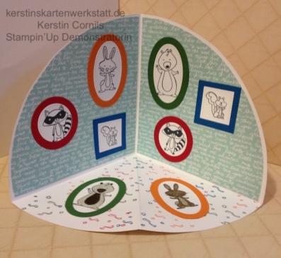 Rohbau Circel Fold Up Card 3