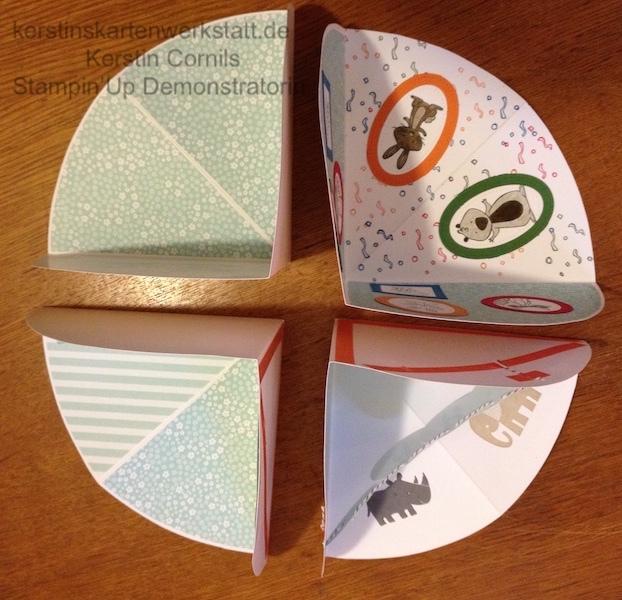 Rohbau Circel Fold Up Card 5