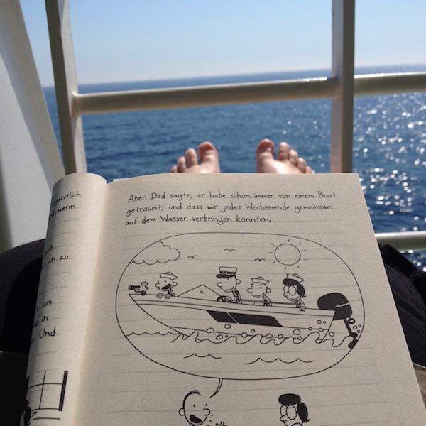 Auszug aus Gregs Tagebuch Böse Falle