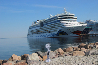 Greg auf Kreuzfahrt in Tallinn (Estland)