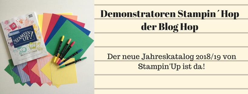 Demonstratoren Stampin´Hop der Blog Hop