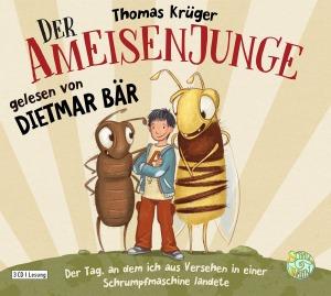 Rezension zum Hörbuch: Der Ameisenjunge von Thomas Krüger und gelesen von Dietmar Bär