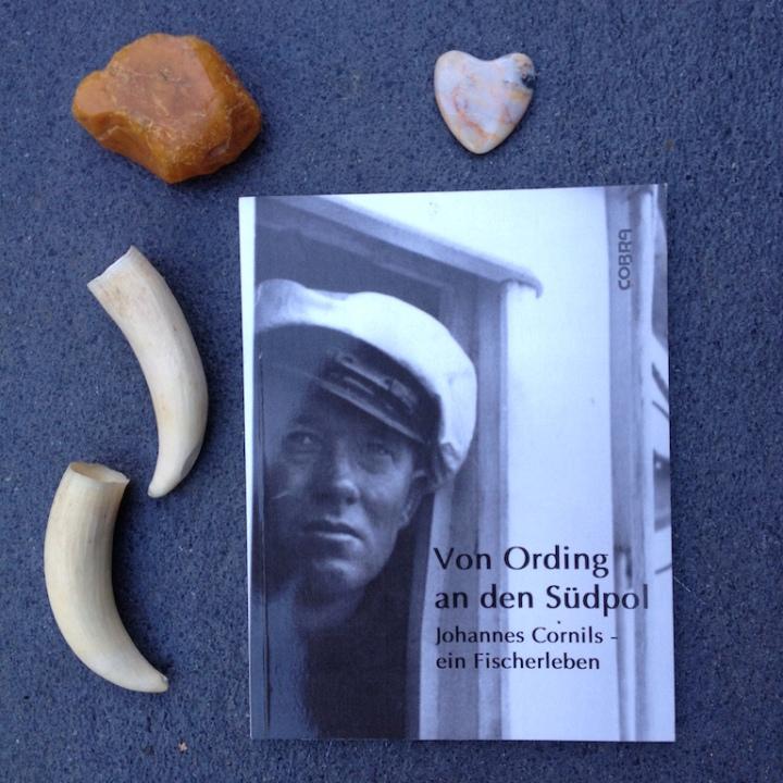 Buch: Von Ording an den Südpol Cover