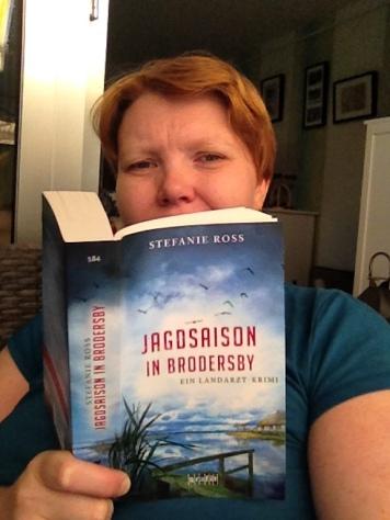 Kerstin liest Jagdsaison in Brodersby