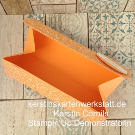 Klappbox, Verpackung mit Magnetverschluss, Geschenkbox selber basteln, Schachtel selbstgemacht