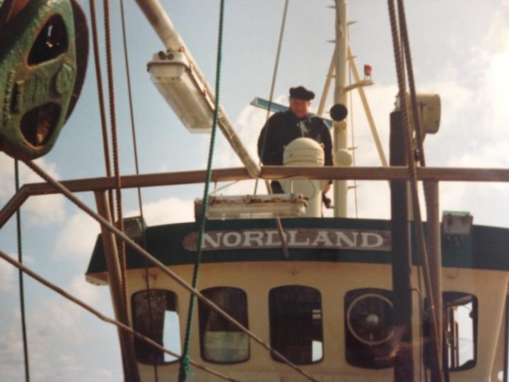 Mein Großvater auf der Nordland