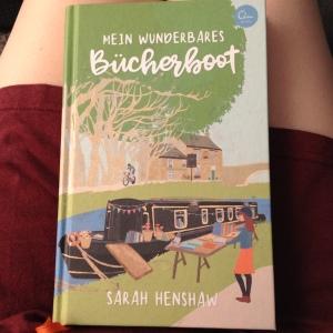 Sarah Henshaw: Mein wunderbares Bücherboot. Rezension, Sketchnote