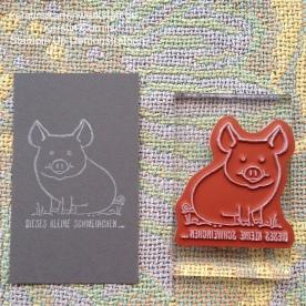 Versa Shadowing Technik mit Schwein 4