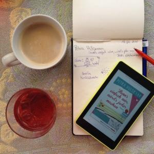Vorbereitung für den neuen Roman von Petra Hülsmann